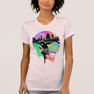 """""""Cidade retro """" Camiseta"""