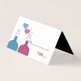 Ciência do amor que Wedding cartões Tented do