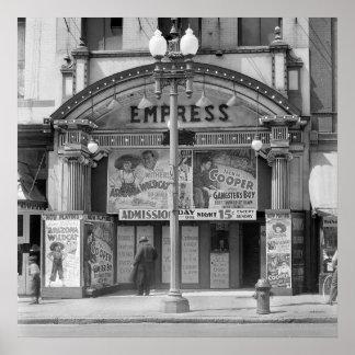 Cinema da imperatriz, 1939 poster