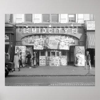 Cinema de Midcity, 1937 Poster