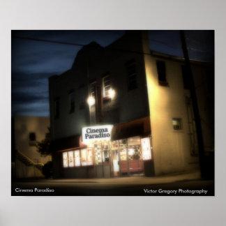 Cinema Paradiso, fotografia de Gregory do vencedor Poster