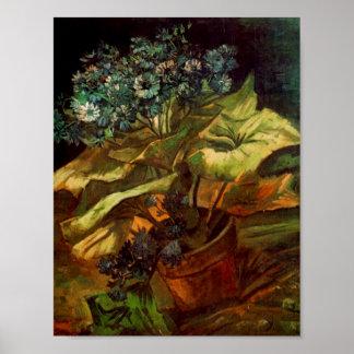 Cineraria em um Flowerpot, Vincent van Gogh Posteres