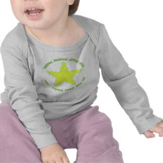 Cintilação pouca estrela tshirts