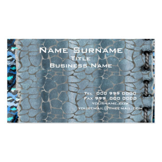 Cinza abstrato popular cartão de visita