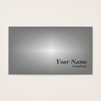 Cinza clássico cartão de visitas