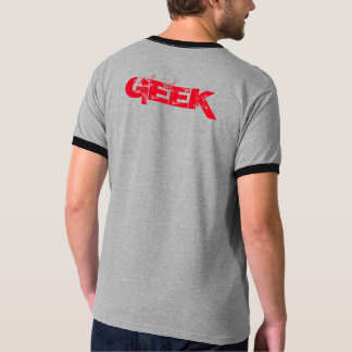 Cinza do clube do geek t-shirt