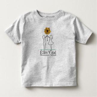 Cinzas da camisa da criança do EVM