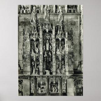 Cinzelando, igreja do en Bresse de Bourg Posters