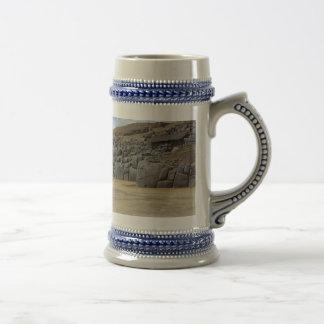 Cinzento/azul caneca de cerveja de 650 ml