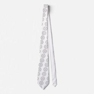 Círculo de unidade do geek da matemática gravata