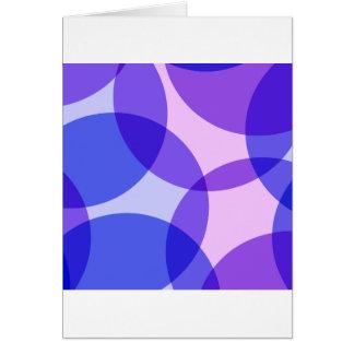 Círculos Cartão Comemorativo
