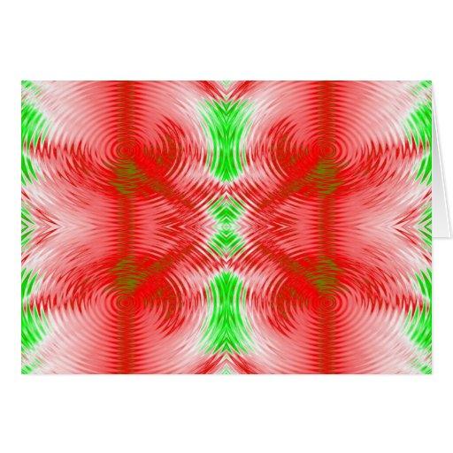 círculos festivos cartão