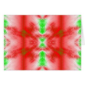 círculos festivos cartão comemorativo