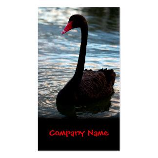 Cisne • Cartão de visita agradável