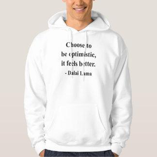 citações 4a de Dalai Lama Moletom