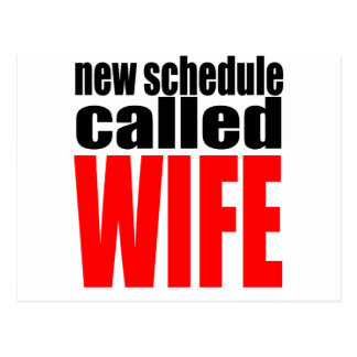 citações da realidade do newlywed da programação cartão postal