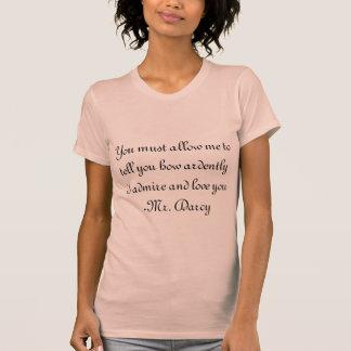 Citações do Sr. Darcy Tshirts