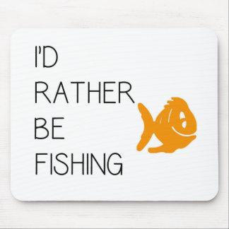 Citações engraçadas da pesca mouse pad