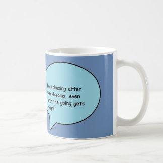 Citações inspiradas caneca de café