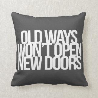 Citações inspiradas e inspiradores travesseiro de decoração