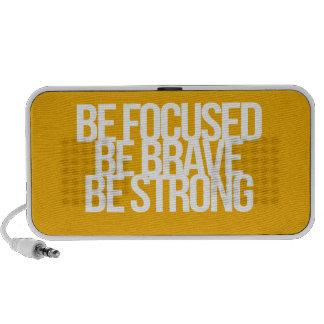 Citações inspiradas e inspiradores caixinha de som para iPod