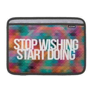 Citações inspiradas e inspiradores bolsas de MacBook air