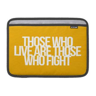 Citações inspiradas e inspiradores bolsa para MacBook air