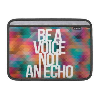 Citações inspiradas e inspiradores bolsa de MacBook air