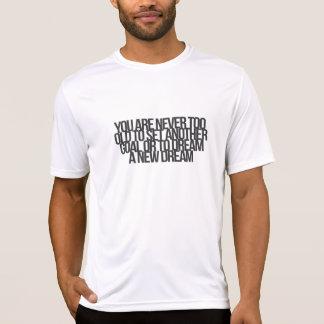 Citações inspiradas e inspiradores t-shirts