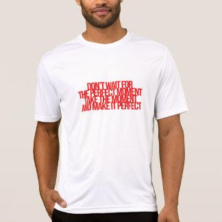 Citações inspiradas e inspiradores camiseta