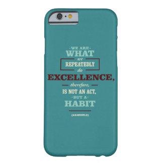 Citações inspiradores capa barely there para iPhone 6