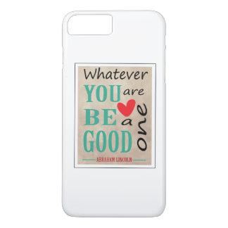 Citações inspiradores de Abraham Lincoln Capa iPhone 7 Plus
