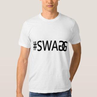 Citações na moda engraçadas do #SWAG/SWAGG, as Tshirts