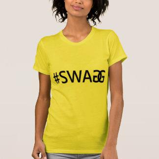 Citações na moda engraçadas do #SWAG/SWAGG, Camiseta