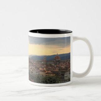 Cityscape. de Florença, Italia Caneca