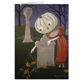 Clara visita o monte do louro cartão comemorativo