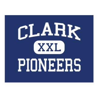 Clark - pioneiros - segundo grau - pescada Indiana Cartão Postal