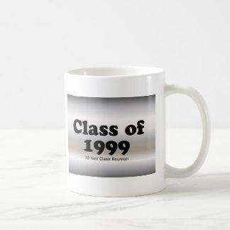 Classe de 1999 uma reunião de 10 anos caneca de café