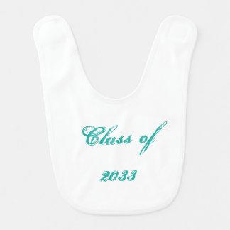 Classe de 2033 prontos para personalizar o babador