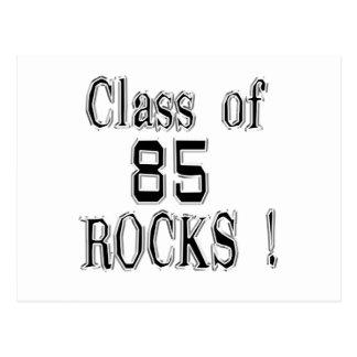 Classe 'de 85 rochas! Cartão Cartao Postal