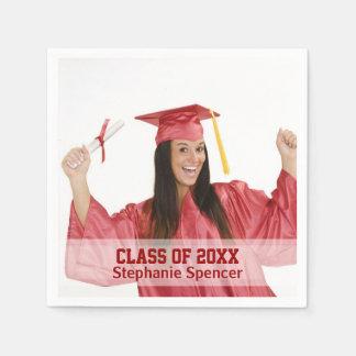 Classe de graduação personalizada 20xx guardanapo de papel