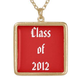 Classe personalizada da colar da graduação de 2012