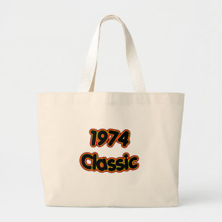 Clássico 1974 bolsa para compras
