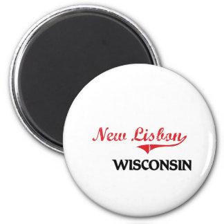Clássico novo da cidade de Lisboa Wisconsin Imas De Geladeira