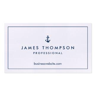 Clássico profissional do logotipo de linho da cartão de visita