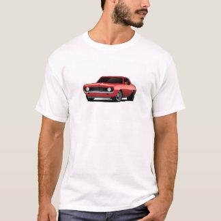 Clássico vermelho de Camaro T-shirts