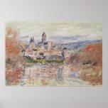 Claude Monet | a vila de Vetheuil, c.1881 Poster