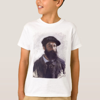 Claude Monet - Auto-retrato na boina 1886 Tshirts