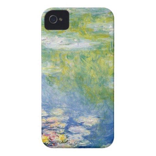 Claude Monet, lagoa do lírio em Giverny iPhone 4 Capa