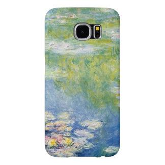 Claude Monet, lagoa do lírio em Giverny Capas Samsung Galaxy S6